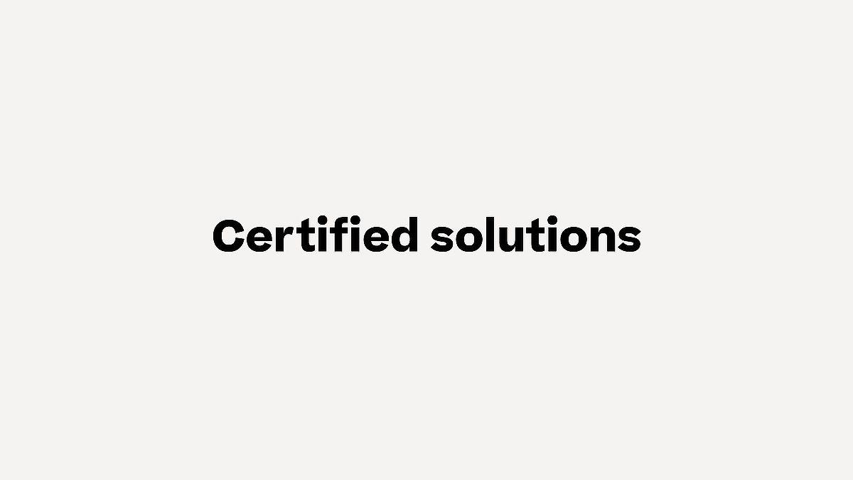 Certified solutions